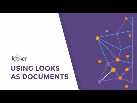 Using Looks as Documents