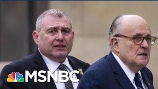 'He's Worried': Indicted Giuliani Associate Complying In Impeachment Probe | MSNBC