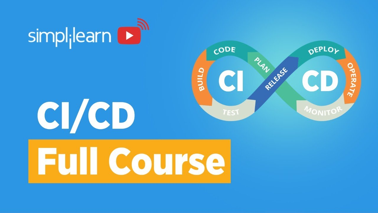 CI/CD Full Course   CI/CD Tutorial   Continuous Integration And Continuous Delivery