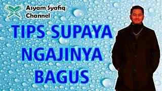 Download TIPS BISA NGAJI DENGAN SUARA MERDU