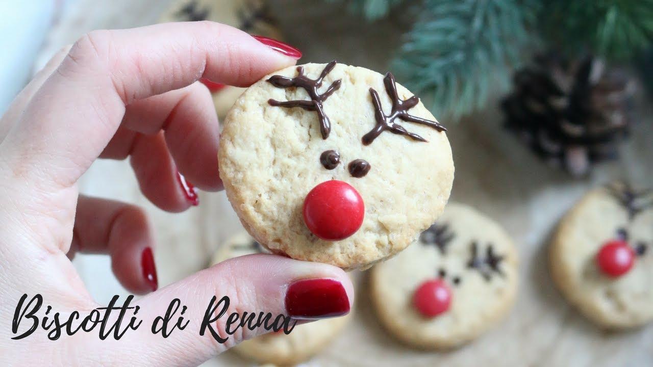 Biscotti Di Natale Uccia.Biscotti Di Natale Renna Senza Burro E Senza Uova Youtube