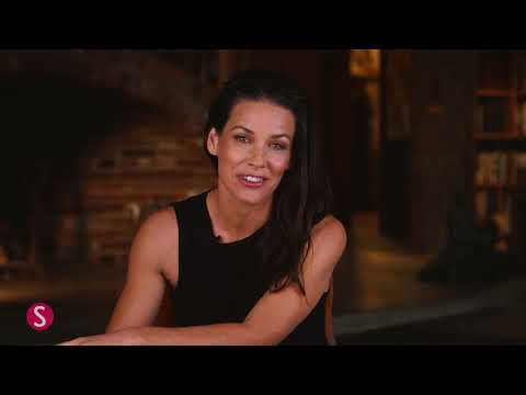 Behind the Scenes with Shape Cover Star Evangeline Lilly | SHAPE