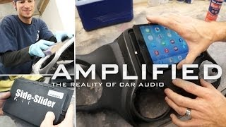 Ipad Mini Side-slider Kit Installed Into A Jeep Wrangler - Amplified #134