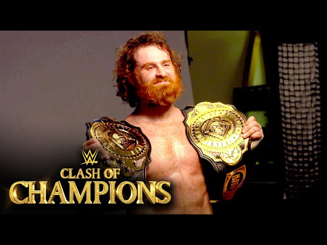 Sami Zayn gloats with the gold: WWE Network Exclusive, Sept. 27, 2020