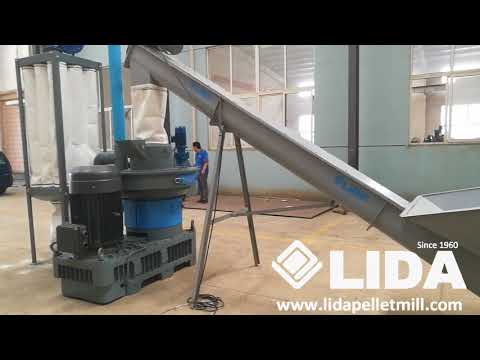 Instruction and working video of Yantai LIDA Newly Designed  Pellet Mill