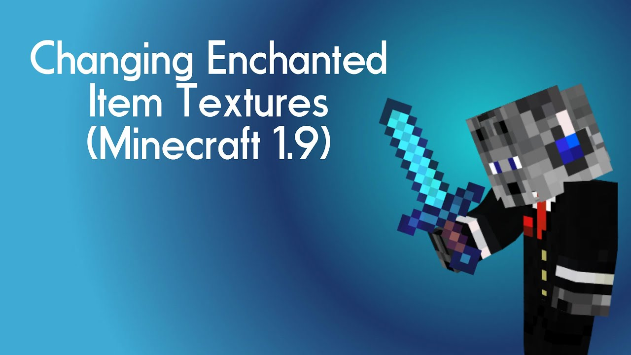 Changing Enchanted Item Textures Minecraft YouTube - Minecraft texture pack item namen andern