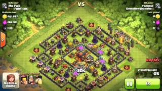 Clash of Clans | NEW WORLD RECORD - One Season Defence Record by Mr Fail - Part 1