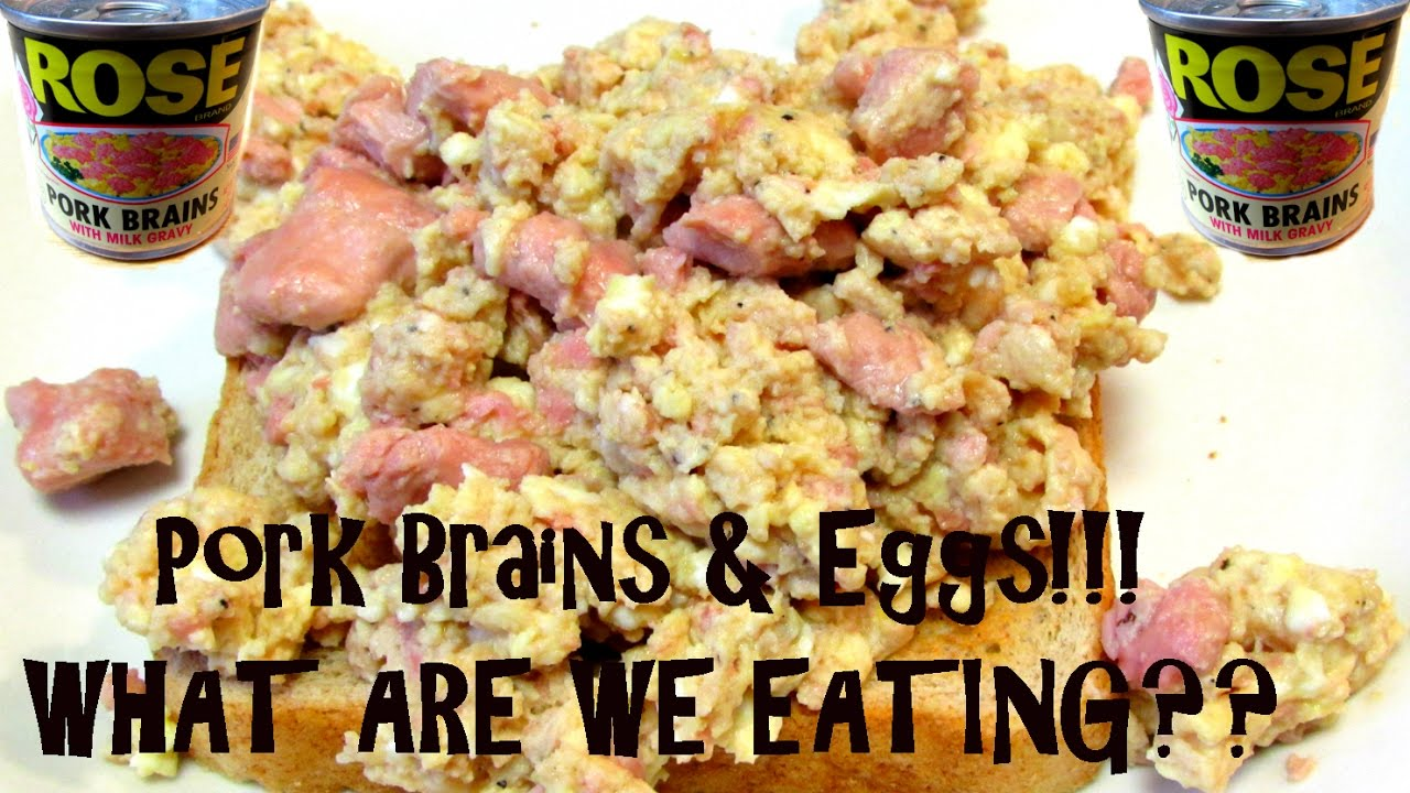 pork brains eggs what are we eating the wolfe pit youtube