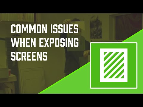 Screen Exposure Problems PART 1 from YouTube · Duration:  7 minutes 12 seconds
