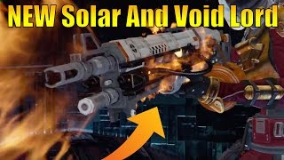 Destiny - New Exotic Weapons! Solarlord And Voidlord! New Heavy Machine Guns