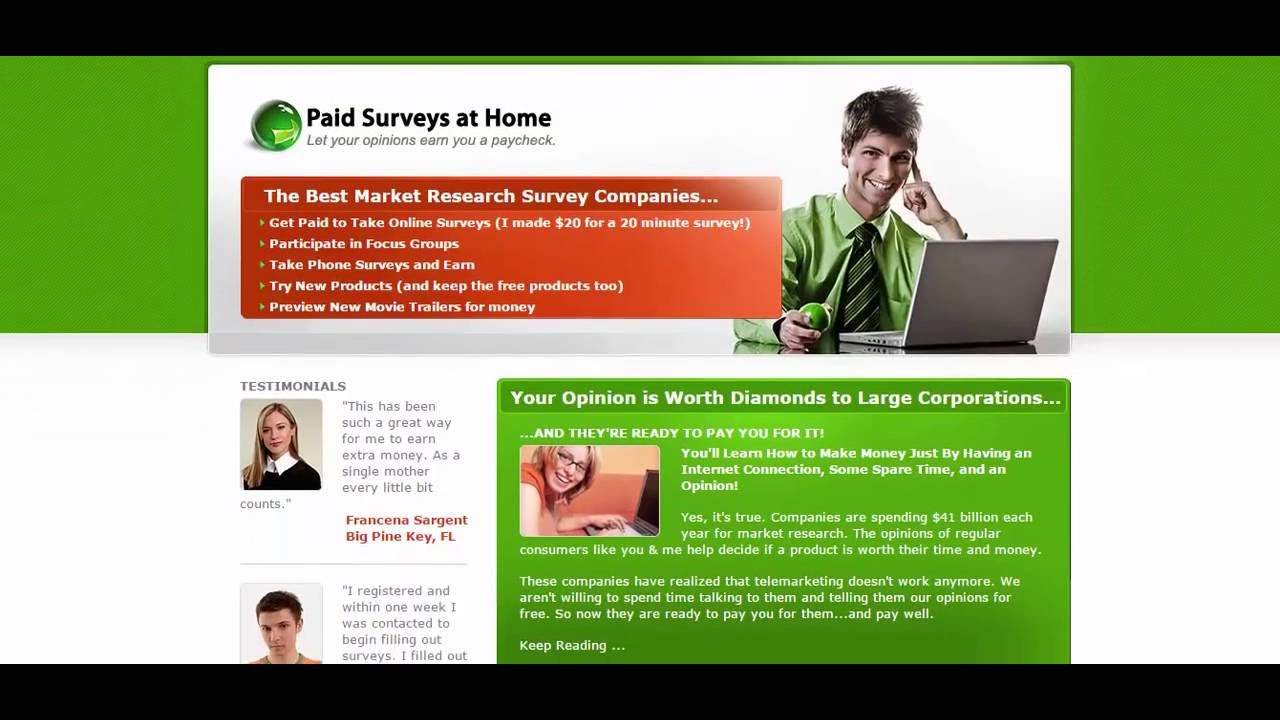 Paid Surveys Online|Paid Surveys at Home - Scam or not? (Tap this TITLE to  Show Link on Mobile)