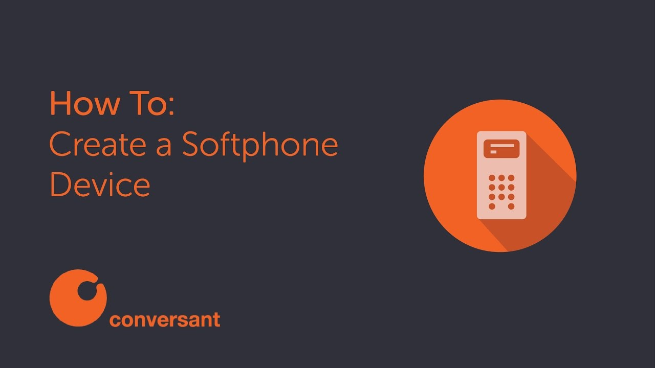 How to Create a Softphone Device