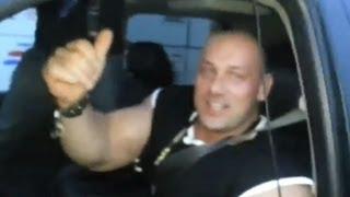 Burneika na Gumball 3000 / Hardcorowy Koksu na skrzyżowaniu (światłach) 2017 Video