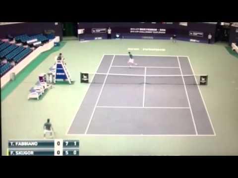 Groth S. vs Fabbiano T. 4:6 3:6 (17.6.2017) Tennis ATP