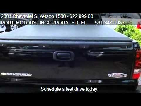 2004 Chevrolet Silverado 1500 LT - for sale in WEST PALM BEA