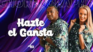 Los 4 - Hazte el Gansta Salsation® choreography by SMT Kamila and Elite Yoyo