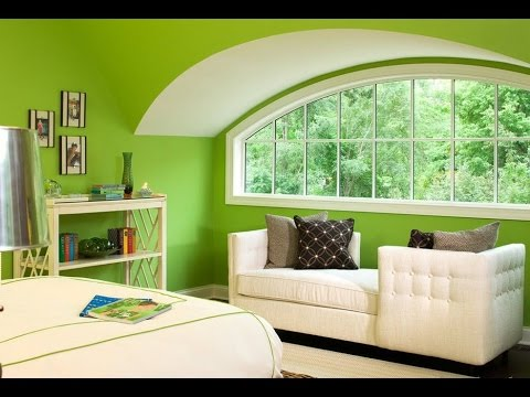 ЗЕЛЕНАЯ СПАЛЬНЯ ❖❖❖ Оформление спальни в зеленых тонах