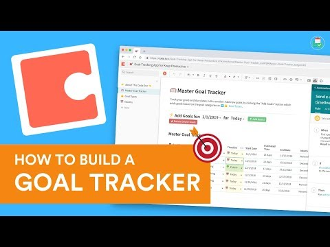 How to Build a Goal Tracker for 2019 in Coda