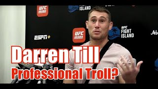 Darren Till: Comments On Mike Perry Bar Fight