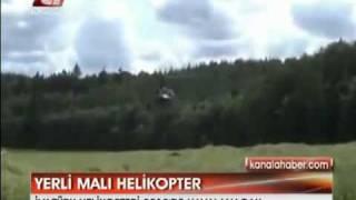 Türkiye İlk Milli Helikopterini Uçuracak !