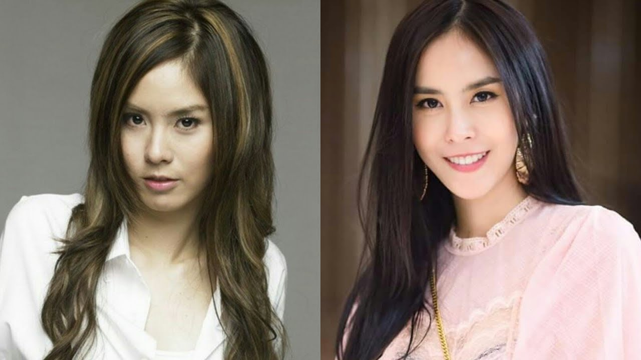 10 thai actresses before and after plastic surgery 2017