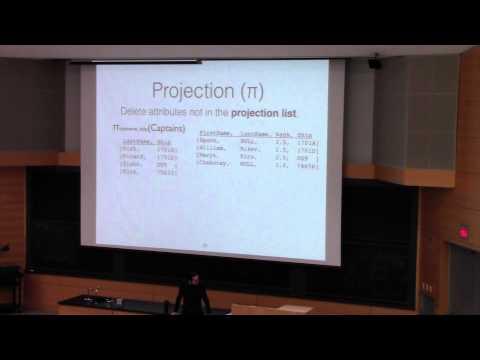 CSE562-2015-Lecture 02-Relational Algebra
