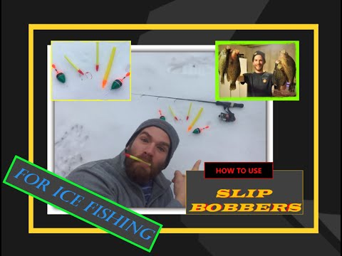 Slip Bobbers For Ice Fishing. Finsanity Episode #1 (Yes We Are Obsessed With Fishing)😄🎣🎣