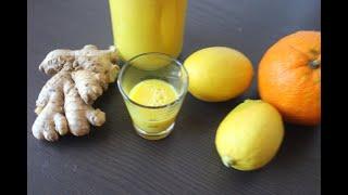 имбирный взрыв для иммунитета /жидкие витамины