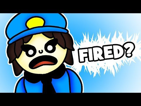 Minecraft Fnaf 1: The Security Guard Gets Fired (Minecraft Roleplay)
