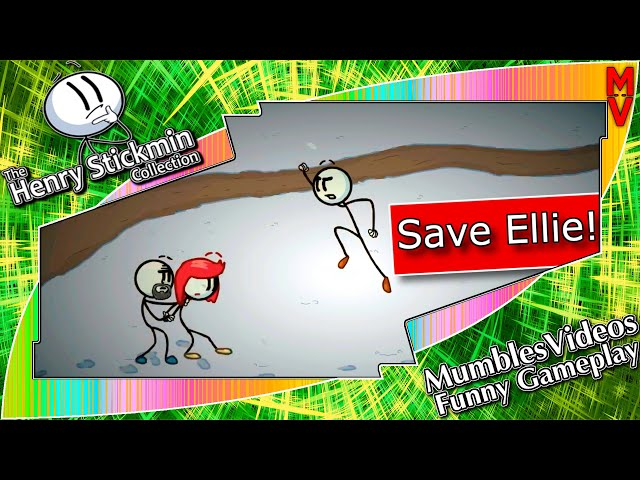 Save Ellie! | The Henry Stickmin Collection Funny Game Edits Gameplay #HenryStickmin