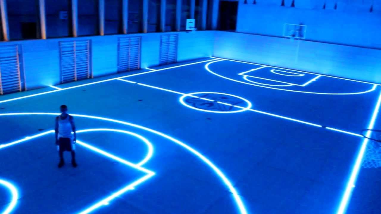 TRON BASKETBALL HALL in Deutschland NBA made in Germany ...