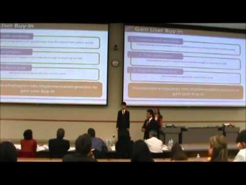 1st Place | MIS Case | Sauder School of Business - UBC | JDC West 2012