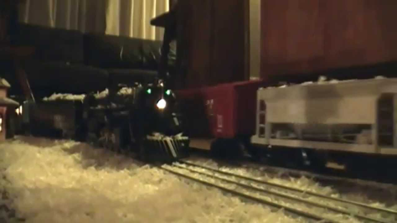 Trains Around The Christmas Tree Part - 43: O-Scale Trains Around The Christmas Tree - YouTube