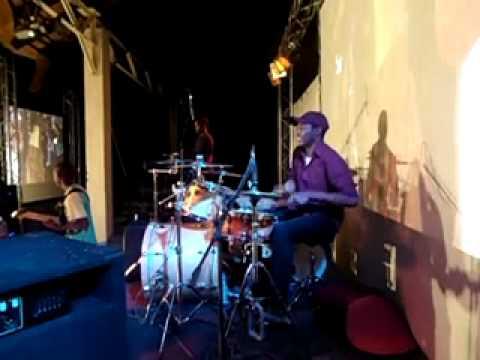 fernando drumking playing african namibian nama beat
