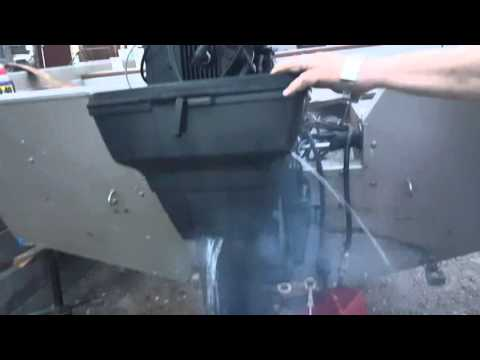 120HP Force outboard cold start