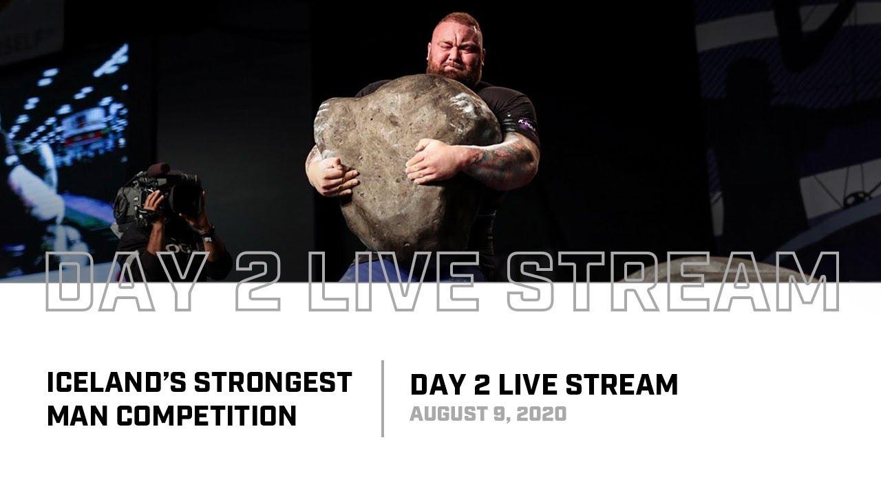 Full Live Stream | 2020 Iceland's Strongest Man - Day 2