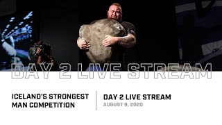 Full Live Stream | 2020 Iceland's Strongest Man - Day 2
