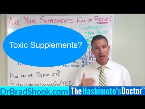 Are my supplements full of Toxins?