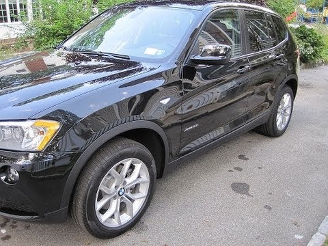 Review of 2013 BMW X3 SUV