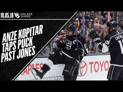 Anze Kopitar's First Goal of the 2018-19 NHL Season