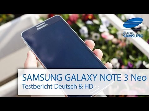Samsung Galaxy Note 3 Neo Test deutsch & HD (SM-N7505)