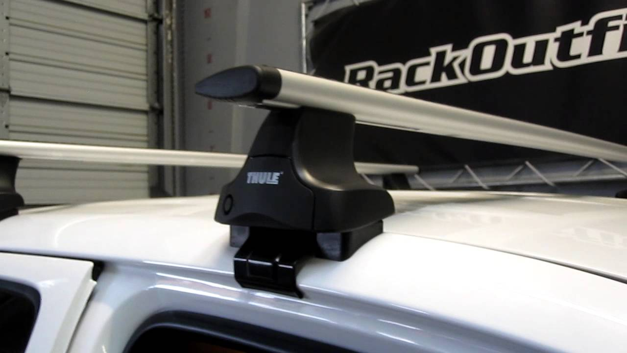 Toyota Tacoma Quad Cab 05 13 With Thule 480r Traverse