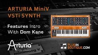 Arturia Mini V Analog Synth - Overview