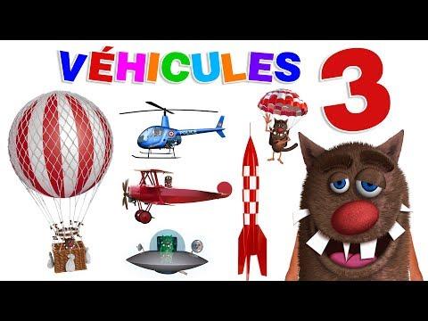 Foufou - Les Véhicules pour les enfants (Learn Flying Vehicles for Kids - Serie 03) 4k