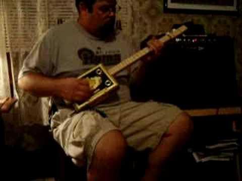Cigar Box Guitar Back Porch Mojo