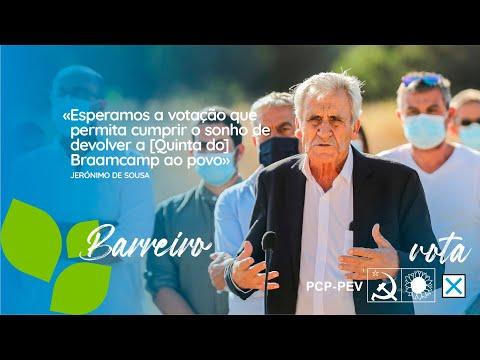 «Esperamos a votação que permita cumprir o sonho de devolver a [Quinta do] Braamcamp ao povo»