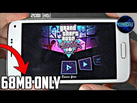 [68 MB] GTA Vice City Super Compressed For Android With All GPU   GTA Vice City Super Lite 2018