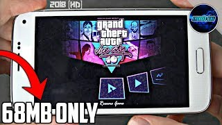 [68 MB] GTA Vice City Super Compressed For Android With All GPU | GTA Vice City Super Lite 2018