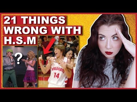 21 Things WRONG With High School Musical