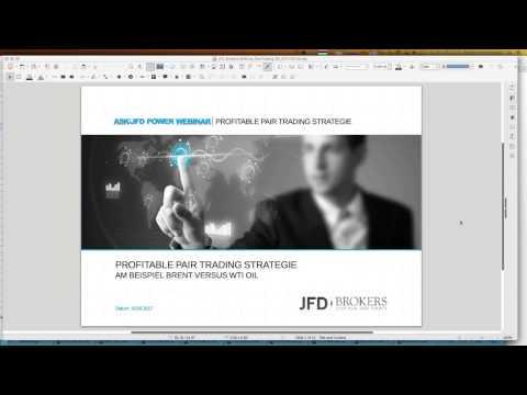 2017 04 18 JFD Workshop  Profitable Pair Trading Strategie am Beispiel Brent WTI
